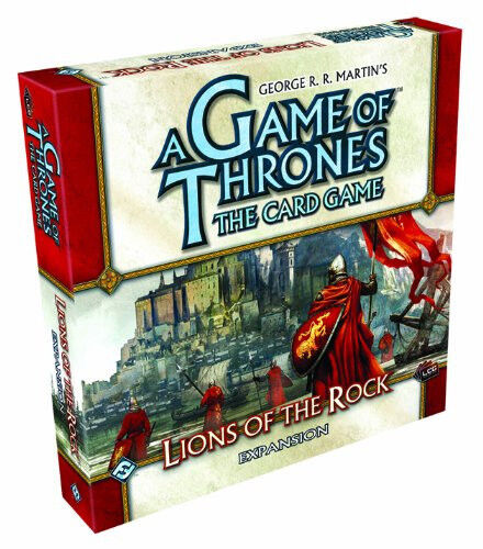 Fantasy Flight Games A Game of Thrones Lcg  Lions of the Rock Expansion