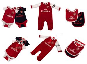 f36dae49e1182 ... Arsenal-FC-Bebe-Sleepsuit-Babygrow-bavoirs-etc-officiel-