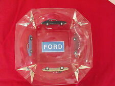 NOS 1969 Ford Mustang Torino T-Bird Ash Tray FoMoCo Sign 69 Galaxie Glass