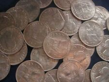 Great Britain United Kingdom Penny 1967 LOT OF 25 BU coins #443