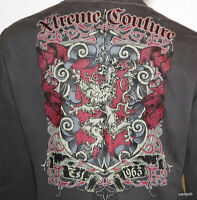 Xtreme Couture Men's King's Pride Stylish Jacket Blazer Top Coat Grey L