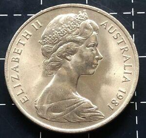 1981-AUSTRALIAN-20-CENT-COIN-EF