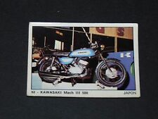 #92 KAWASAKI MACH III 500 JAPON NIPPON MOTO 2000 PANINI EDITIONS DE LA TOUR 1973