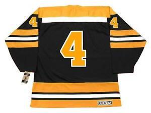 BOBBY ORR Boston Bruins 1970 CCM Vintage Throwback Away NHL Hockey ... 99ad7ba43