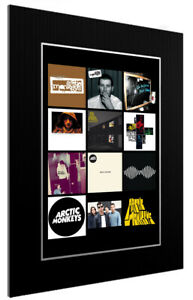 MOUNTED-FRAMED-PRINT-ARCTIC-MONKEYS-DISCOGRAPHY-3-SIZES-POSTER-GIFT-ART
