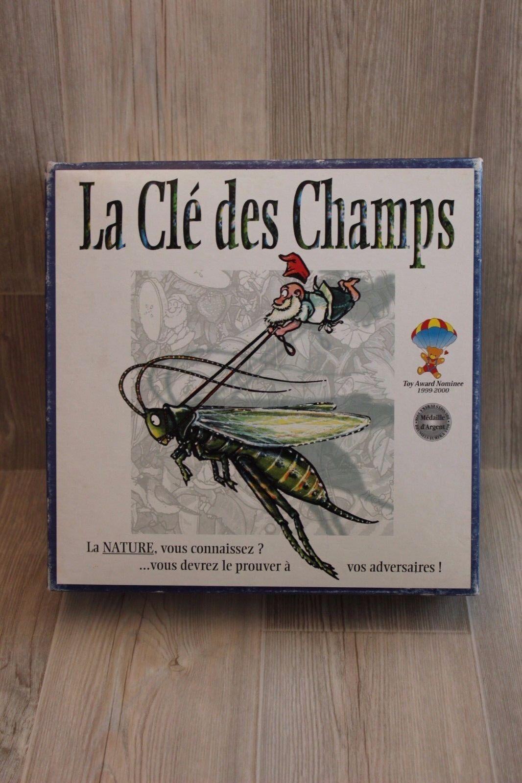 Jeu de Société sur la Nature  La Clé des Champs - Médaille d'silver 1998 complet