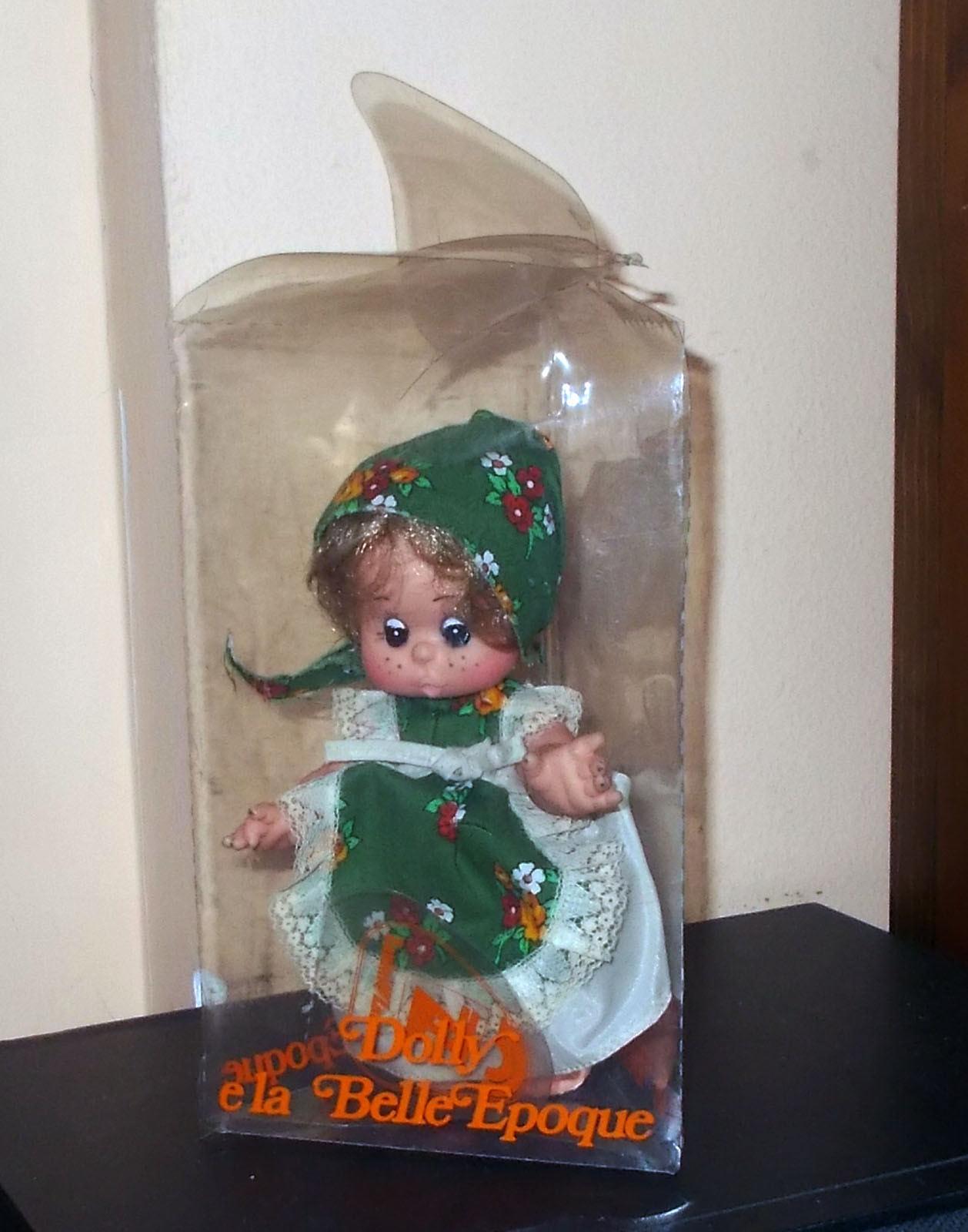 Bambola DOLLY E LA BELLE EPOQUE Zanini Zanini Zanini & Zambelli 1975 Doll 18 cm verde eeb515