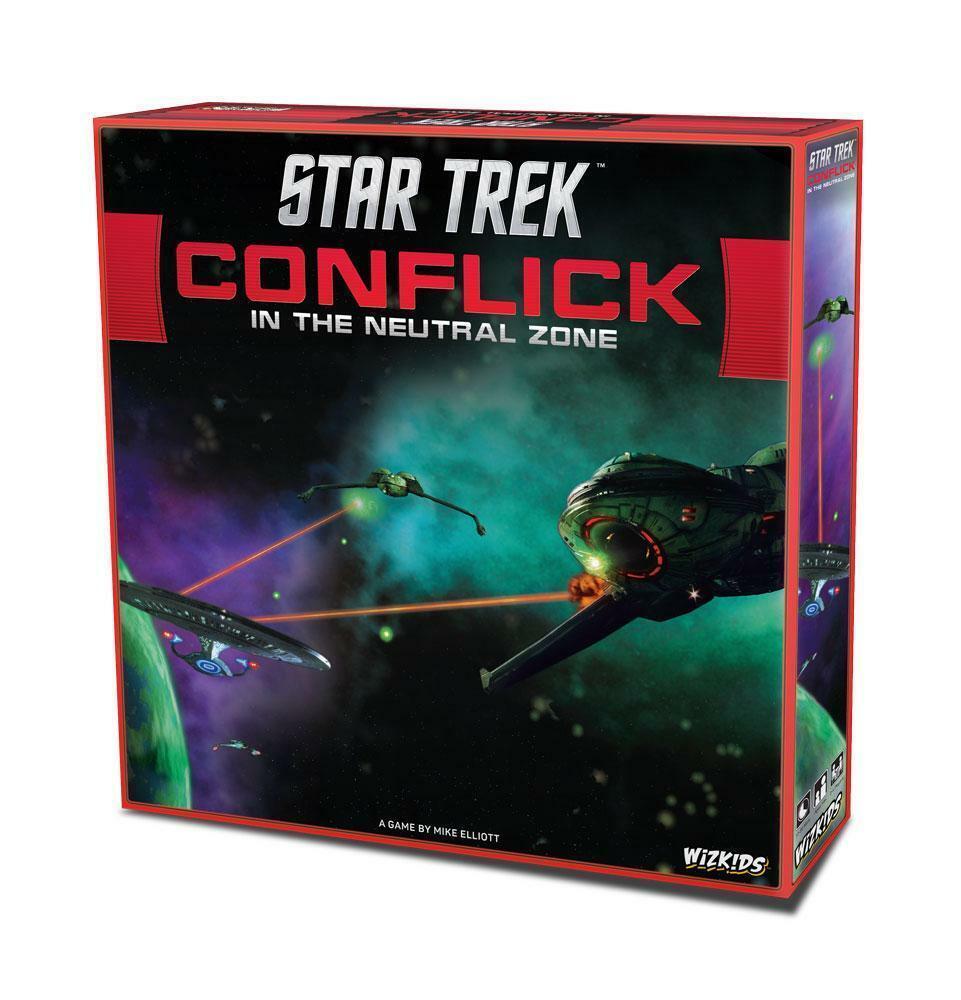 Estrella Trek Juego De Mesa conflick en la zona neutral versión en inglés Wizkids Amp