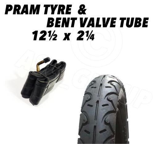 57-203 pushchair stroller scooter 1 x Pram Tyre /& Tube 12 1//2 X 2 1//4