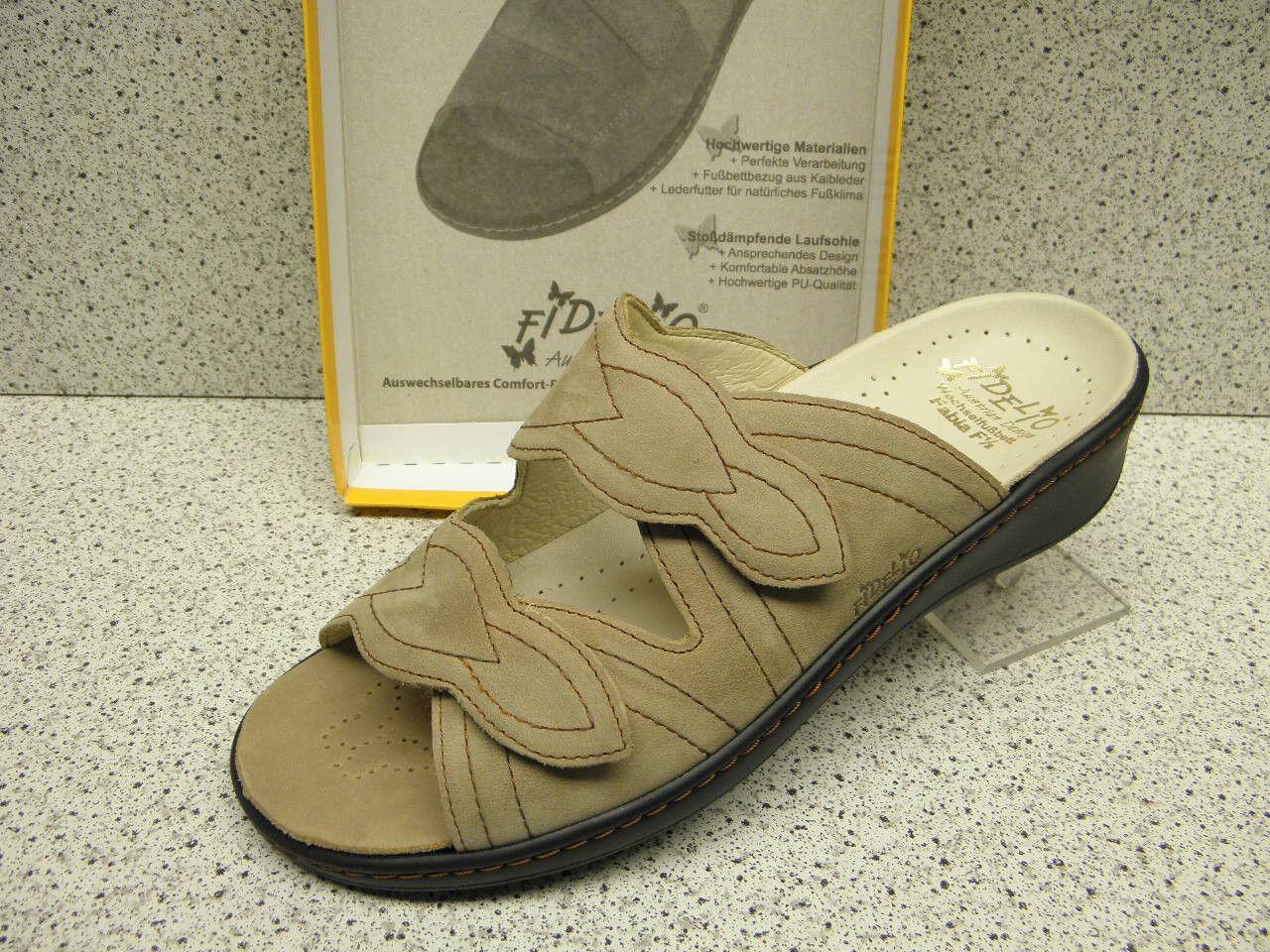 Fidelio ® rotuziert  bisher   Pantolette Leder (F46) Gr. 40
