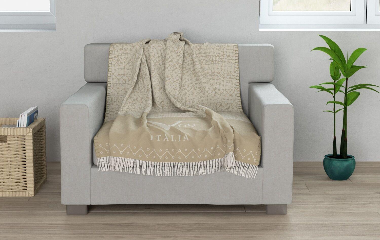 Versace 19.69 Cuadros Decorativos Sofá Cobertor Cama de oro 130 X 170 Cm