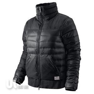 Details zu Nike 800 Down Sweater Damen Jacke Daunenjacke Winterjacke Steppjacke Black S
