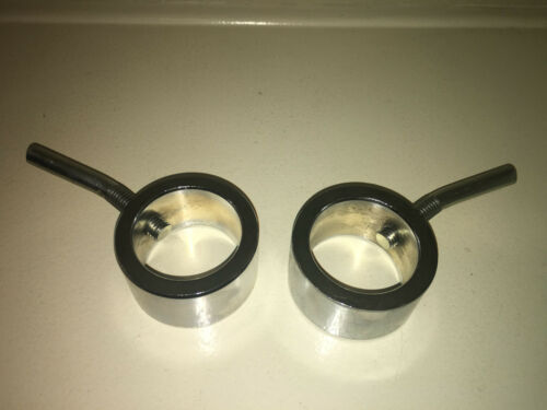 """Low Profile FAST SHIP!! - 1 Pair Olympic Collars Bolt Style 2/"""" diameter"""