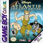 Disney's Atlantis: The Lost Empire (Nintendo Game Boy Color, 2001)