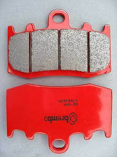FRONT BRAKE PADS BREMBO BMW SINTERED RED 07BB26SA