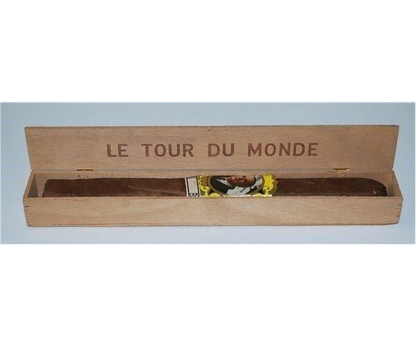 Cigartilbehør, Le Tour Du Monde cigar, 31 cm.