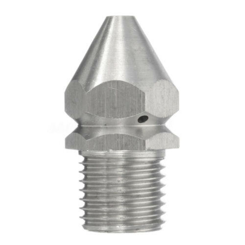 1//4 In Pressure Washer Drain Sewer Cleaning Pipe Jetter Water Spray Nozzle 4 Jet