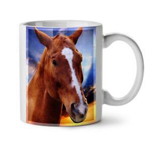 Face Wild Animal Horse NEW White Tea Coffee Mug 11 oz | Wellcoda