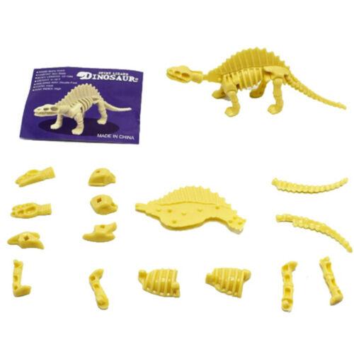 Hot DIY PVC Assembly Disassembly Dinosaur Skeleton Figure Childs Kids Toy Gifts