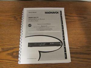 magnavox mdr513h f7 operating user owner s instruction manual ebay rh ebay com