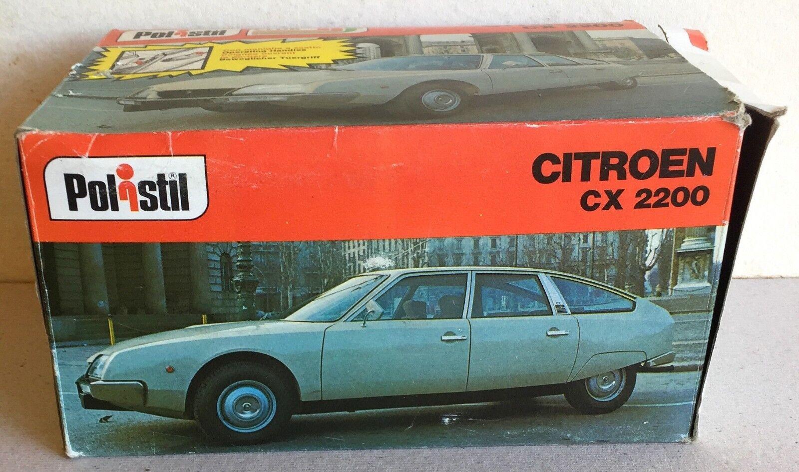 RARE Polistil cod S 38 Citroen CX 2200 1 25ème
