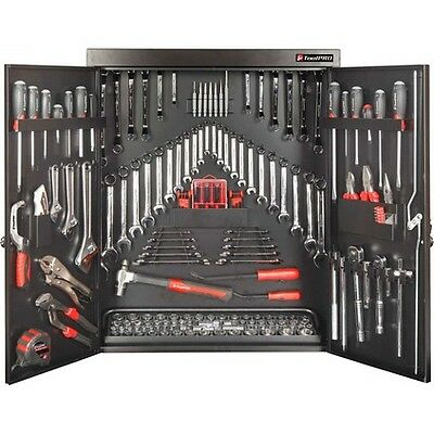 ToolPro Tool Kit - Wall Cabinet, 200 Piece