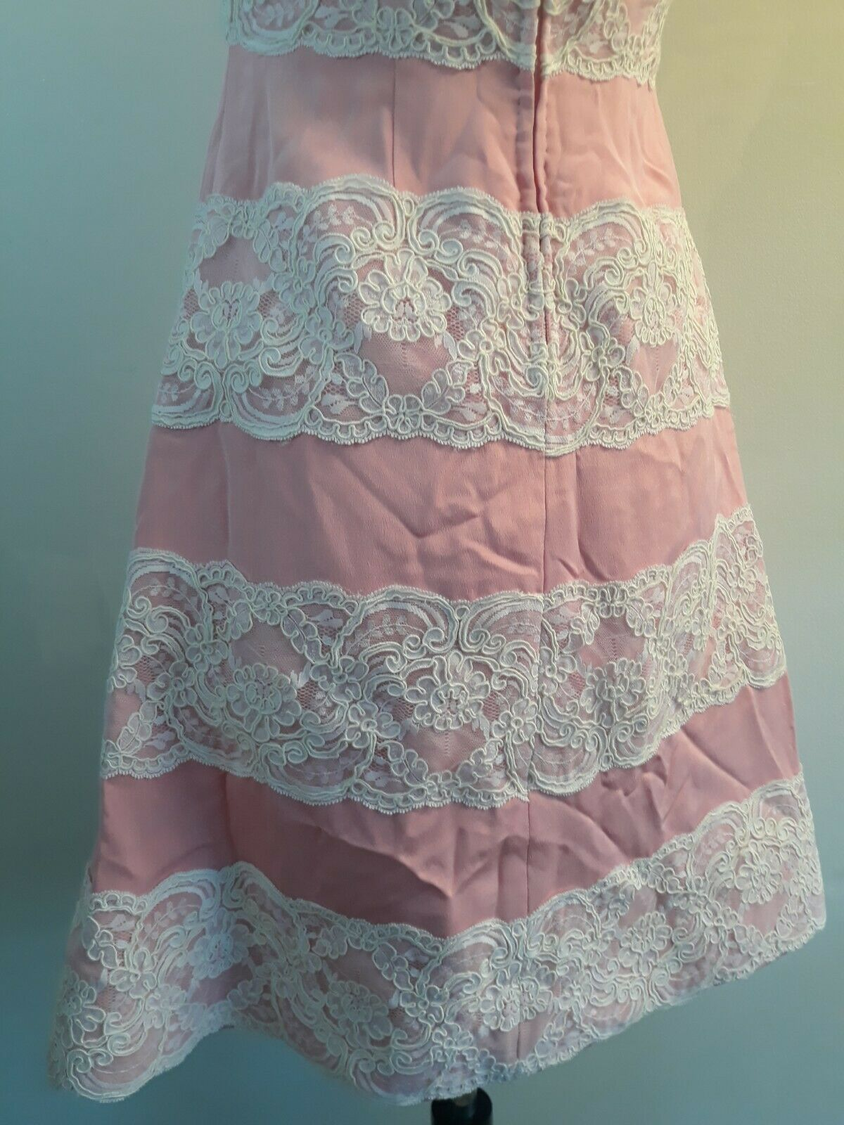Vintage 80s  Scaasi Boutique Sax Fifth Ave Pink& … - image 5
