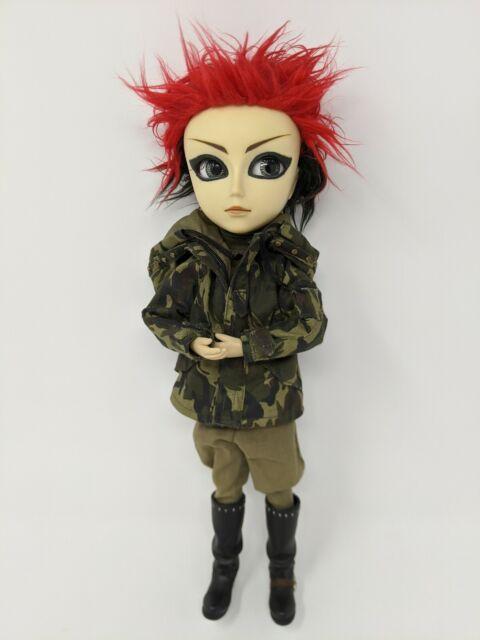 Pullip Doll Taeyang Punk Red Black Horizon Fashion Japanese Boy Wild Hair