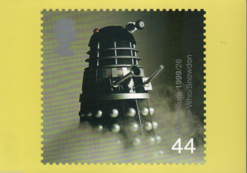 Doctor Who Dalek Stamp Postcard PHQ 208 Iconic Lord Snowdon Image