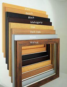 fotorahmen holz effekt rahmen plakat rahmen f r fotos bilderrahmen bild uk ebay. Black Bedroom Furniture Sets. Home Design Ideas