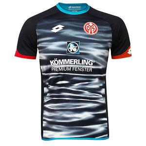 S5370 neongelb Lotto 1 FSV Mainz 05 Herren Fussball Ausweichtrikot 3rd Jersey