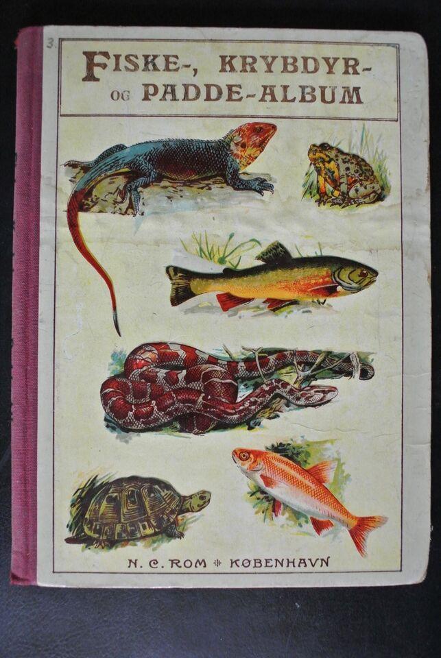 roms fiske- krybdyr- og padde-album, emne: dyr