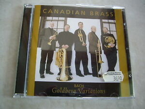 CANADIAN BRASS J.S. BACH Goldberg Variationen TOP-CD! - <span itemprop='availableAtOrFrom'>Hessen, Deutschland</span> - CANADIAN BRASS J.S. BACH Goldberg Variationen TOP-CD! - Hessen, Deutschland