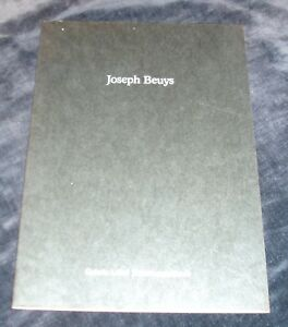 Joseph-Beuys-ART-EXHIBITION-CATALOGUE