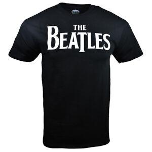 THE-BEATLES-Mens-Tee-T-Shirt-S-M-L-XL-John-Lennon-Rock-Band-Black-Music-NEW