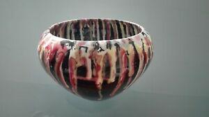 Ciotola-vaso-centrotavola-ceramica-modernariato-Italia-anni-60