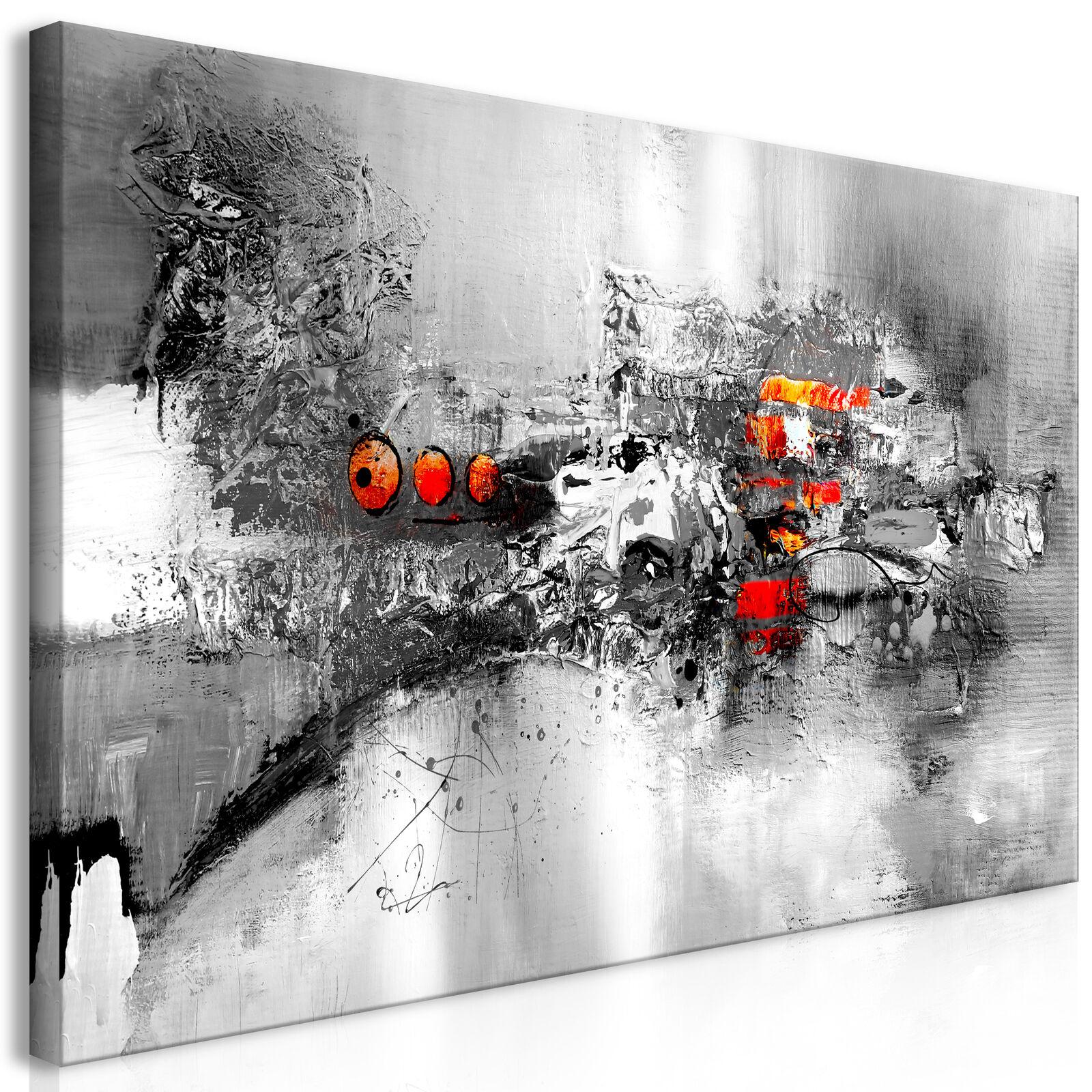 Wandbilder xxl Abstrakt Bilder auf Vlies Leinwand Leinwandbilder a-A-0472-b-a