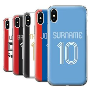 Personalised-Case-for-Apple-iPhone-X-10-Custom-Football-Club-Shirt-Kit