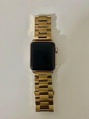 Apple Watch Series 3 38mm Gold Cellular T Mobile Ebay