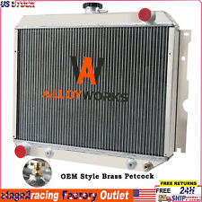 New Listing4 Row Radiator Fits Dodge Charger Challenger Plymouth Big Block V8 1970 1972 Fits 1972 Charger
