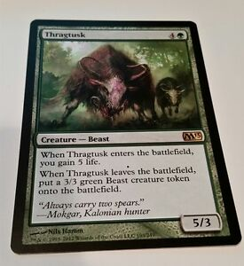4x Flinthoof Boar M13 MtG Magic Green Uncommon 4 x4 Card Cards