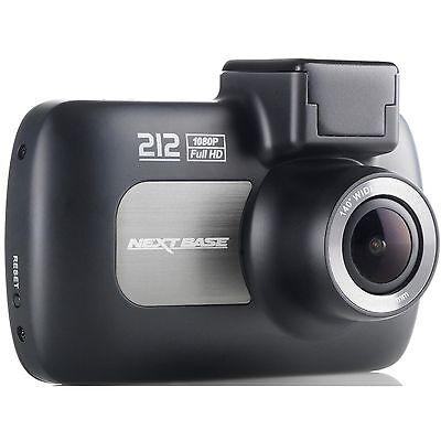 "Nextbase 212 Professional Car Dash Dashboard Video Camera 2.7"" 1080P HD DVR Cam"