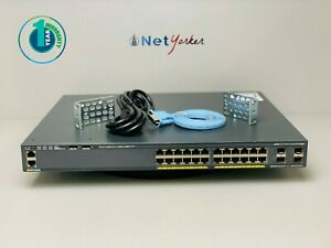Cisco-Catalyst-WS-C2960X-24PS-L-24-Port-PoE-Switch-SAME-DAY-SHIPPING