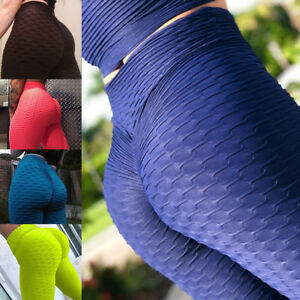 Women-039-s-Hip-Push-Up-Yoga-Pants-Sports-Fitness-Running-Gym-Leggings-Trousers-G109