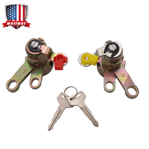 Door Lock Cylinder Tumbler Set Fit for Toyota Camry 1992 1993 1994 1995 1996