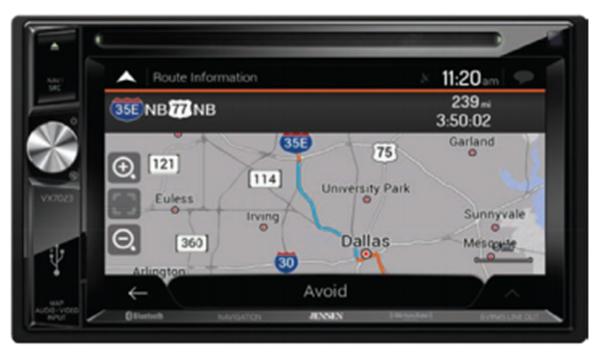 New Kia Optima 2016 2017 Navigation System Radio Vx 7023 Hdmi Ipod Bluetooth
