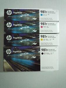 Original HP Tintenpatrone 981Y Multipack für Enterprise Color 556dn 556xh NEU