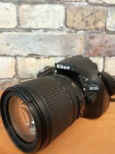 Nikon D5200 + Objectif Nikon AF-S DX NIKKOR 18-105 mm f/3.5-5.6G