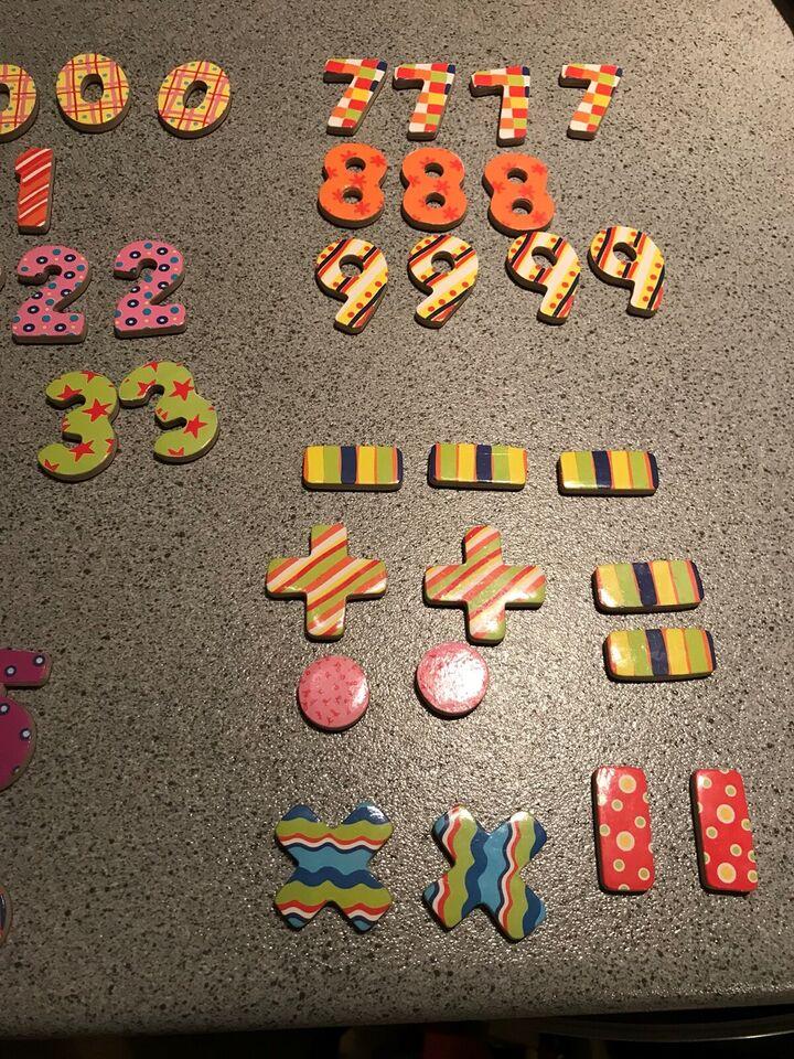 Andet legetøj, Magneter , Tal og tegn