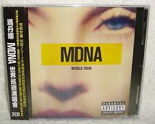 Madonna MDNA World Tour Taiwan 2-CD w/OBI (GIRL GONE WILD VOGUE LIKE A PRAYER)